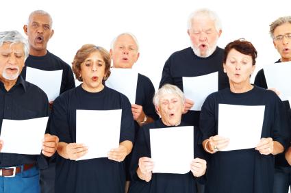 Choir with Music
