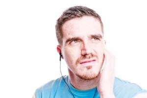 Listening to bad music