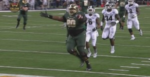 baylor big guy touchdown