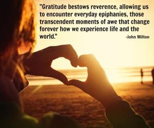 John Milton Gratitude quote
