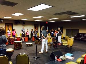 Vicki drum class