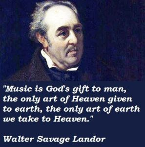 Music is a Gift Landor